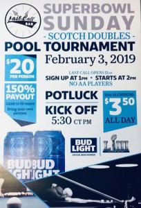 Last Call Pool Tournament
